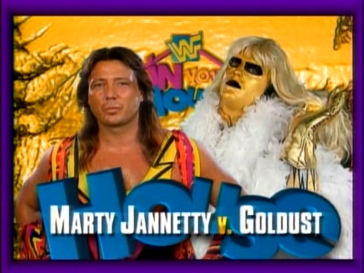 WWF / WWE - In Your House 4 - Marty Jannetty vs. Goldust