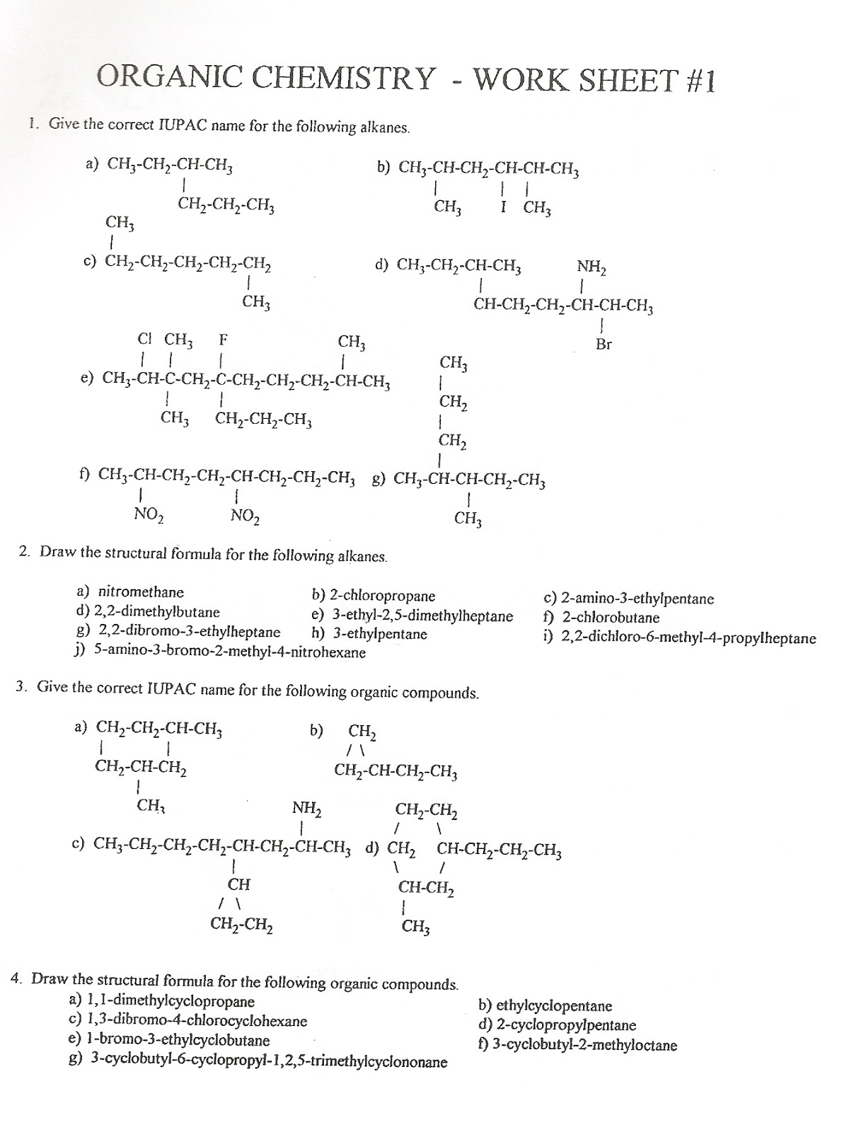 Organic chemistry homework help | Norex International
