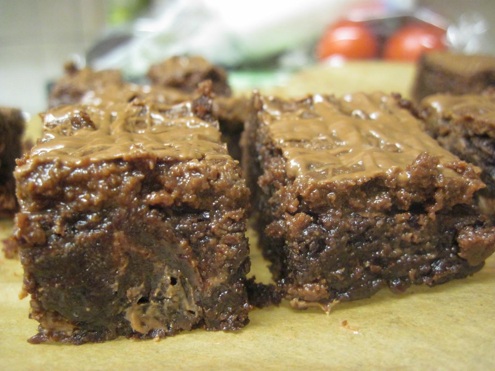 The Sugar Lump: Peanut butter truffle brownies