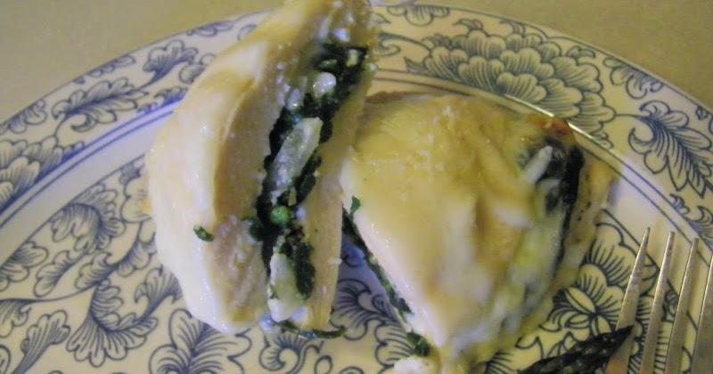 Chef Mommy: Stuffed Chicken Florentine
