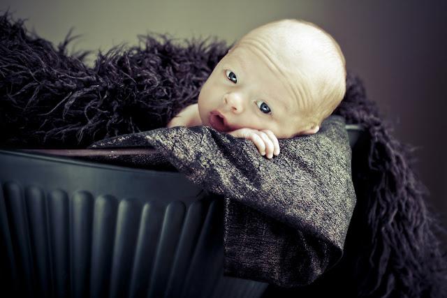 A Newborn Portrait by Kelly Is Nice Photography | www.kellyisnice.com
