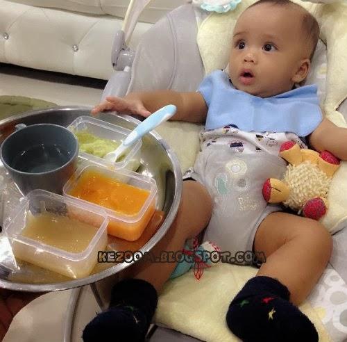 8 Gambar Terkini Anak Fasha Sandha, Putera Rayfal Ramli