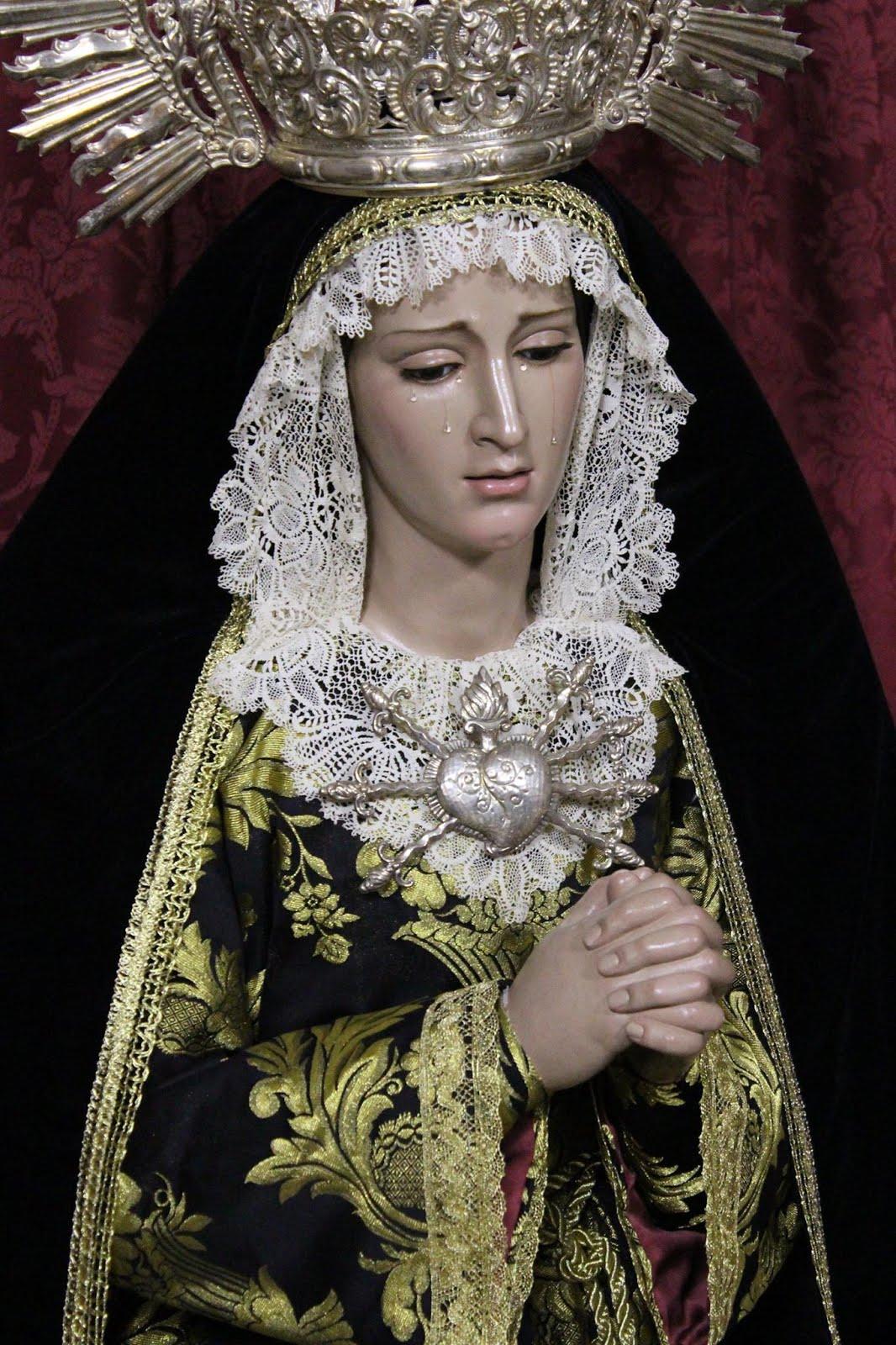 """Dolorosa, nominada a la mejor obra del VIII premio """"La Hornacina""""."""