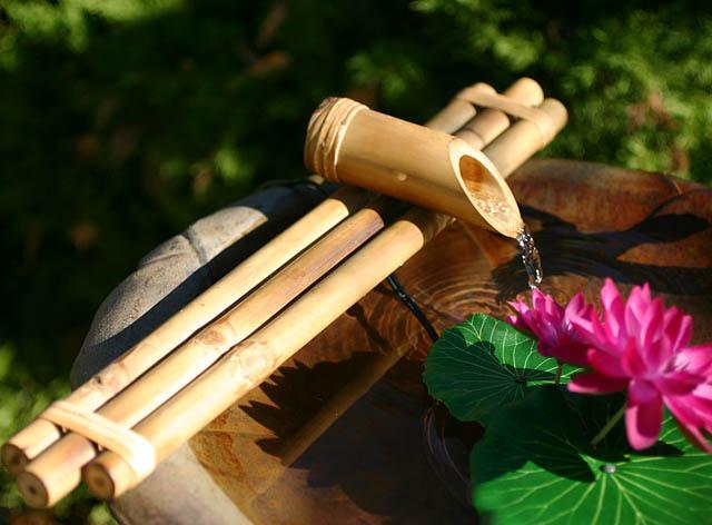 artesanato de bambu para jardim:Casa e Flora : Artesanato de Bambu