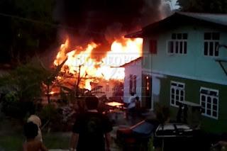 Pergorbanan Ayah Dan Ibu | Disambar Api Kerana Mahu Menyelamatkan Anak