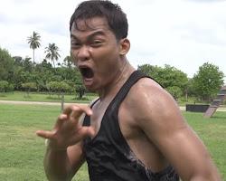 Meet Tony Jaa, Dog Lover, In New Demo Reel, Tony Jaa (Khmer Surin ខ្មែរលើ ) កែងឆេះ ជង្គង់ហោះ បង្ហាញក្បាច់ល្បុក្កតោ Bokator .