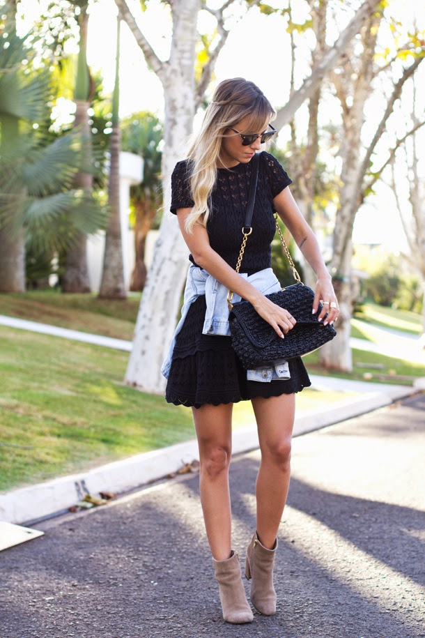 Look: Vestido de Tricot