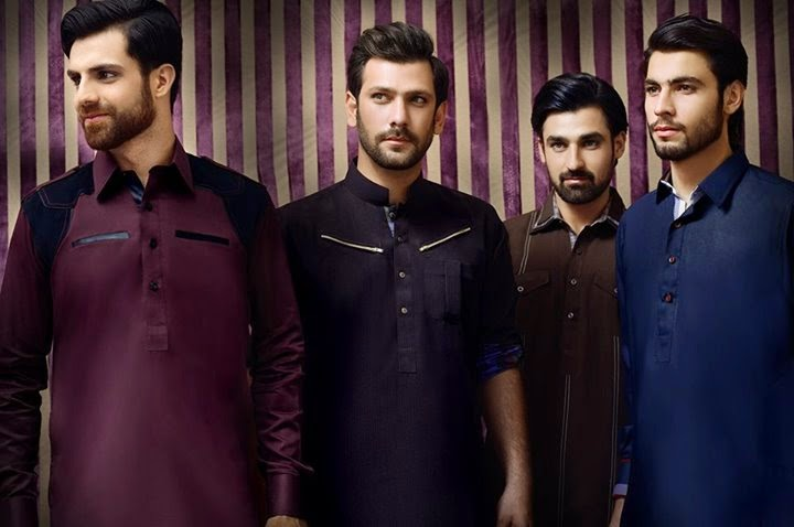 Arsalan Iqbal Men Kurta Collection 2014