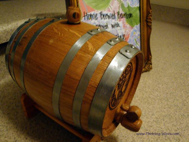 Home Brewed Bourbon