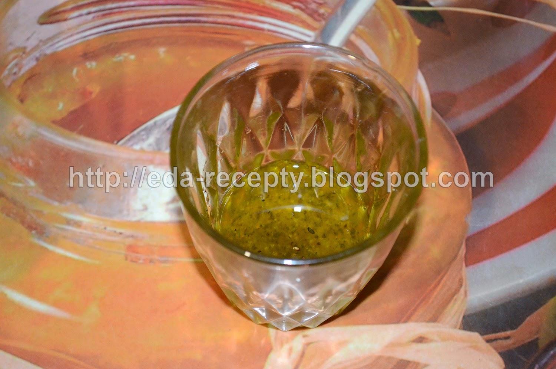 Салат Нисуаз с тунцом: заправка для салата