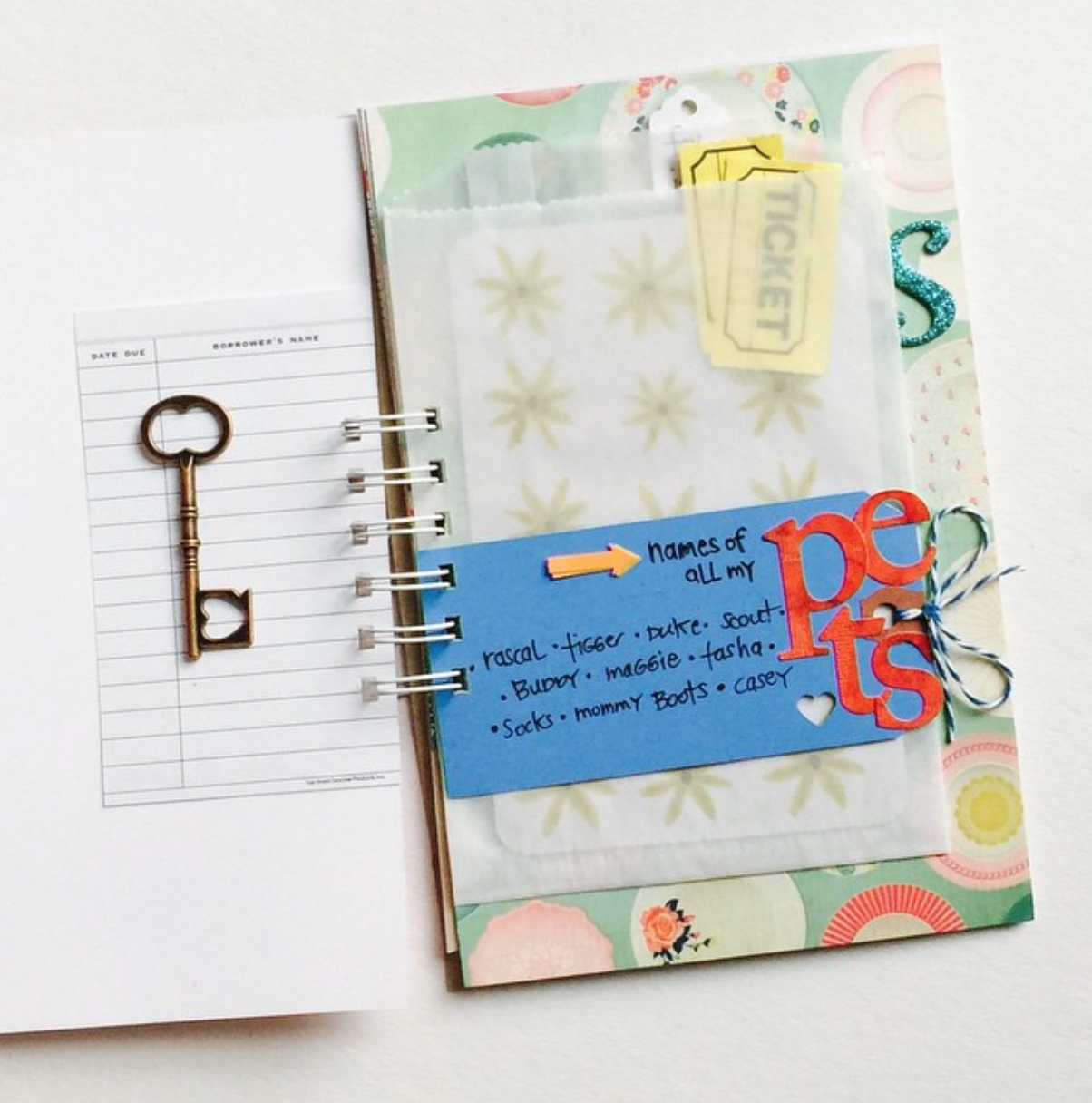 What I'm using in the #listersgottalist IG challenge...a Smash Book with Embellishment Pack from iloveitall.etsy.com