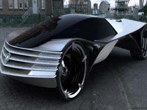mobil masa depan pakai nuklir