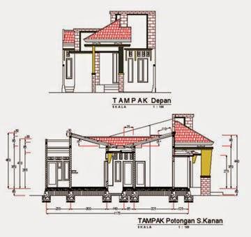 desain rumah minimalis 1 lantai type 70 m2 desain rumah