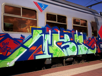 MGB graffiti CREW - MönchenGladBach