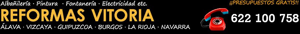 REFORMAS EN VITORIA-GASTEIZ Y ÁLAVA - 622 100 758
