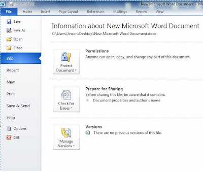 password protect Microsoft word