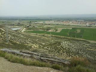 vistas  ermita de San Jorge (El Burgo de Ebro)