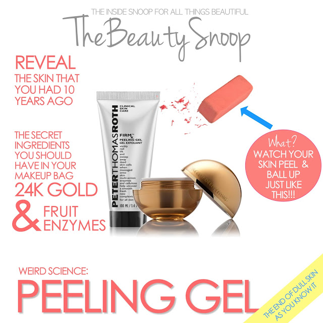 orogold 24K peeling review, Peter Thomas Roth peeling gel review