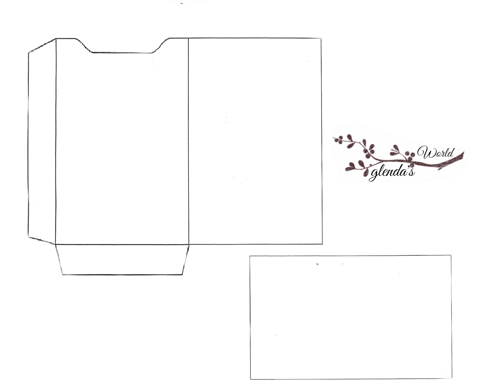 Current image within free printable gift card holder templates