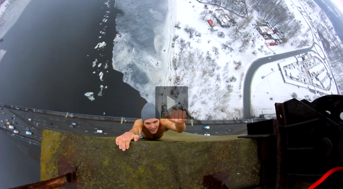 If You're Scared of Heights, This Video Will Haunt Your Nightmares