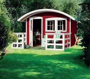 Une pi ce en plus ou ma cabane au fond du jardin - Cabane jardin karibu besancon ...