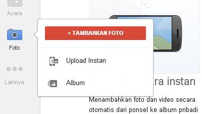 Edit Foto  Google+ (Plus)
