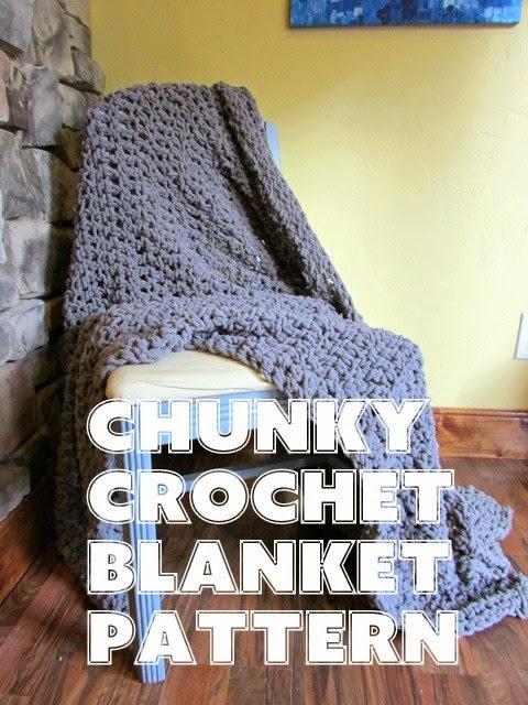 A Lively Hope Chunky Crochet Blanket Pattern