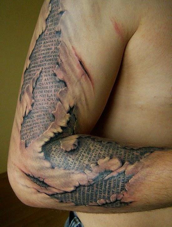 Hand 3d Tattoo