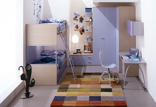cuarto azul para hemanos