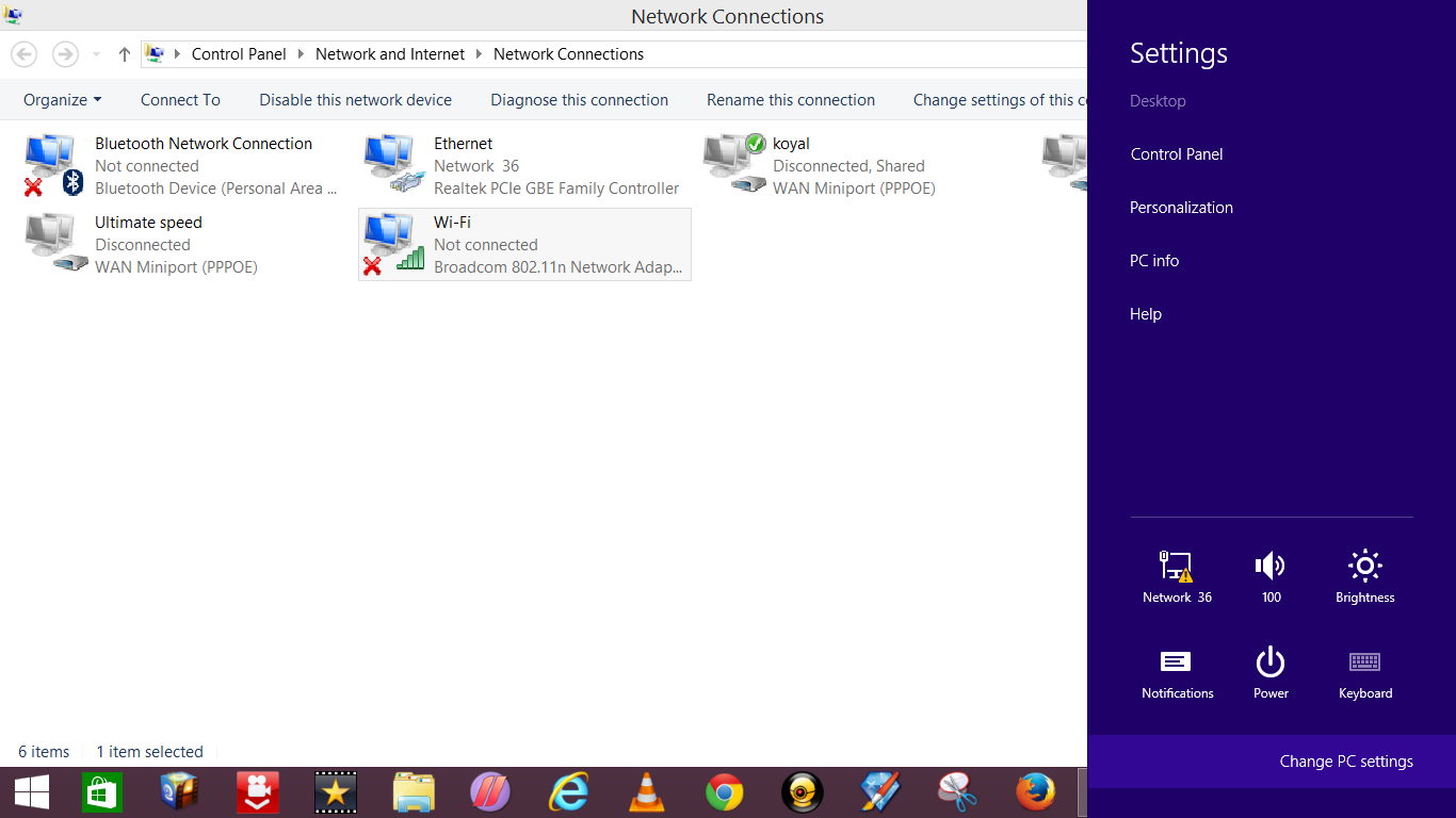 Turn on wifi in windows 8.1 preview step by step 6