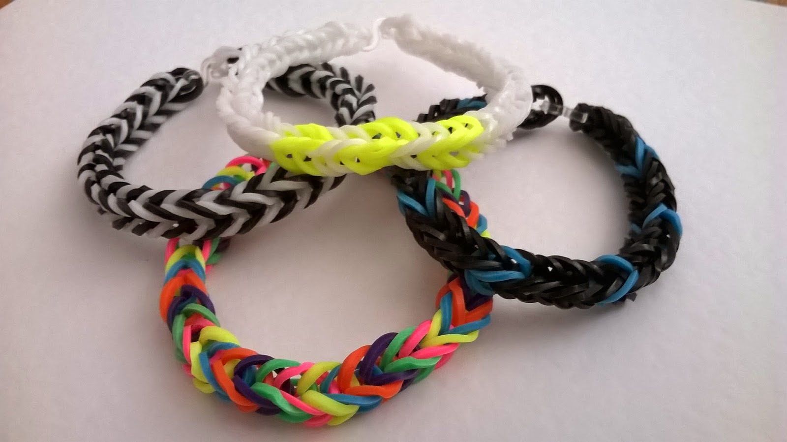 vovs jewellery loom bands tutorial fishtail bracelet