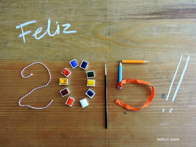 Feliz 2015 by betitu's quest