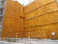 Málaga, solar resultado de demolición de edificio histórico en calle Marqués de Villafiel 6