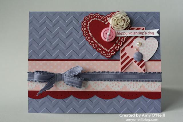 Tarjeta Purple Valentine