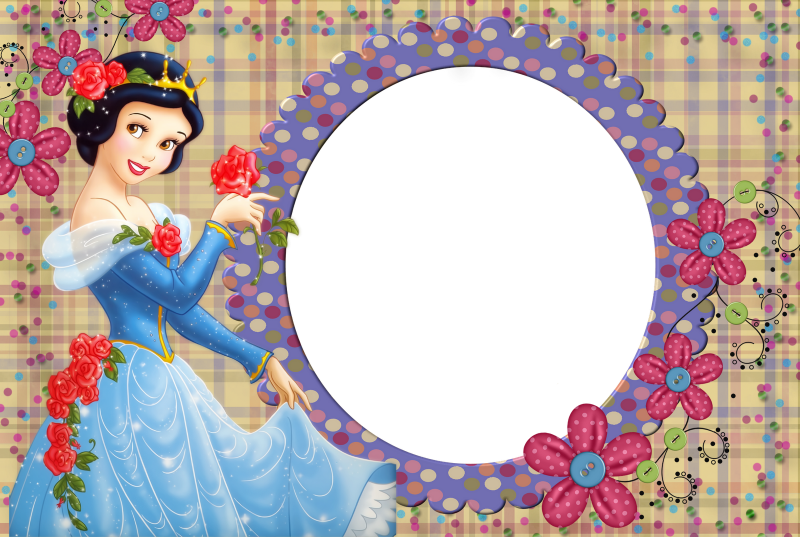 Disney Princess Frame Templates