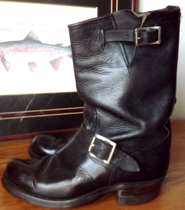 Vintage Engineer Boots: 1950'S HERMAN ENGINEER BOOTS