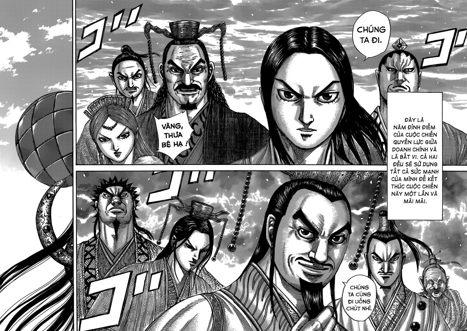 Kingdom - Vương Giả Thiên Hạ Chapter 408 page 4 - IZTruyenTranh.com
