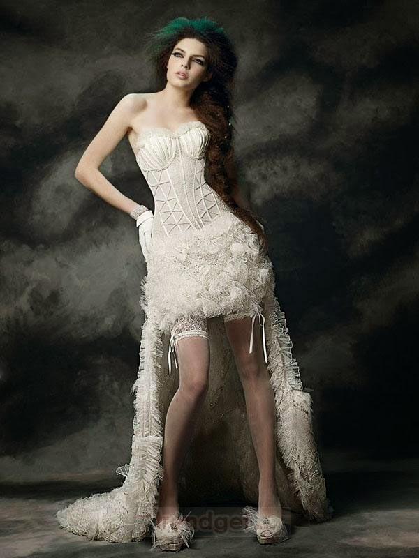 Little Black Dress Vampire Wedding