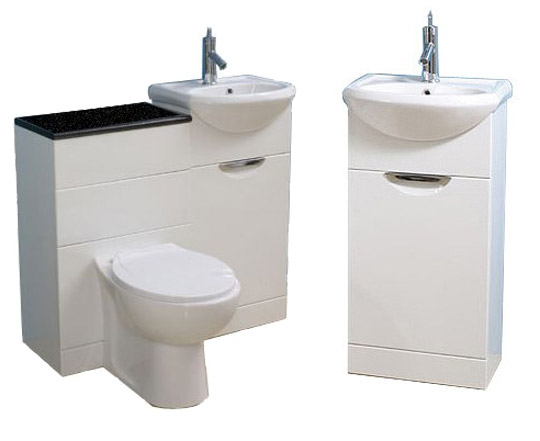 Vanities for bathrooms vanities for small bathrooms - Bath vanities for small spaces set ...