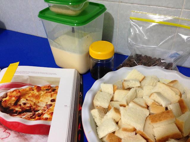 Nigella Lawson Chocolate chip bread pudding from Kitchen