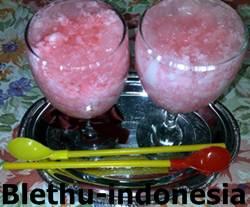 Resep Cara Membuat Es Kopyor Jelly Sintetis Manis Special