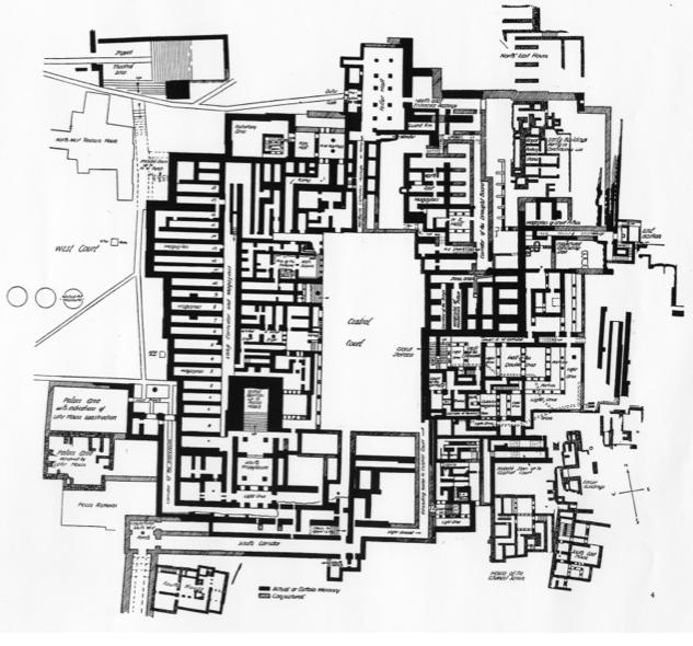 I templi greci il palazzo di cnosso for Planimetria interna