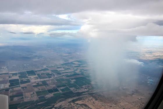 Regensturm über Phoenix
