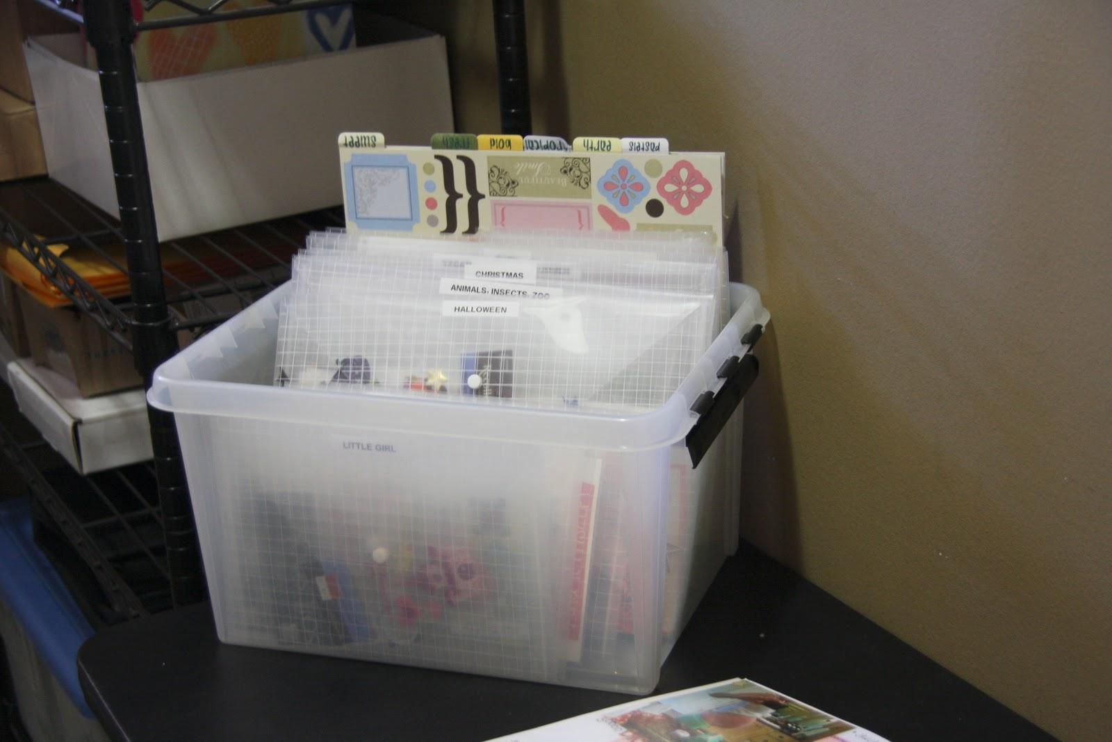 Scrapbook organization ideas - Scrapbook Organization Ideas 85