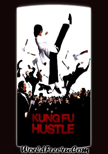 Poster Of Kung Fu Hustle (2004) In Hindi English Dual Audio 300MB Compressed Small Size Pc Movie Free Download Only At worldfree4u.com