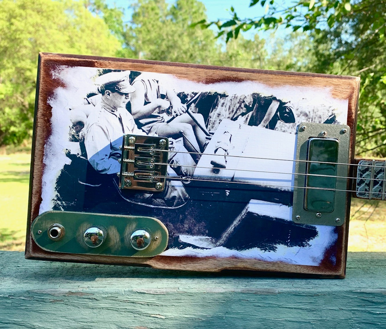 Cigar Box Guitars Made in Gulf Shores