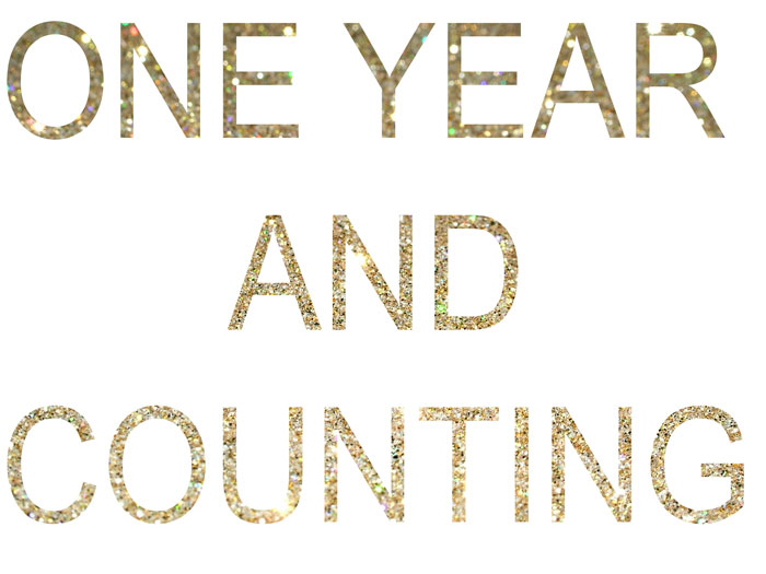 happy one year work anniversary