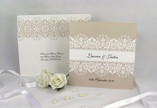 Simple Wedding Invitations Vintage Wedding Invitations