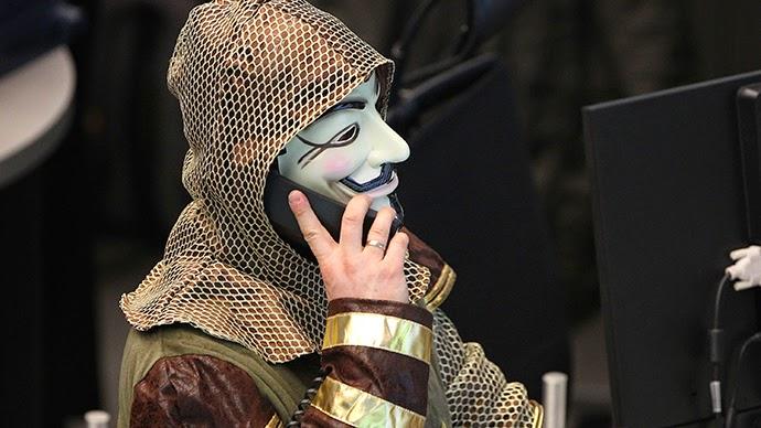 Anonymous Godam laman web Mossad