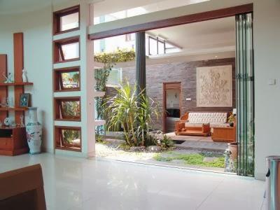 Desain Taman Mungil Rumah Minimalis